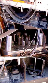 The inner working of a tube organ: Rever, Tube Amplifier and Leslie