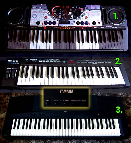 Interesting vintage Syntthesizer Keyboard , Midi Controller and E-Piano