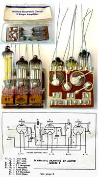 Ampec PC-201 Tube Audio Amplifier Modules