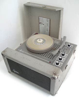 Newcomb Tube Commercial Record Player