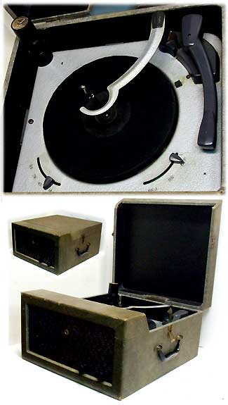 Vintage 50's tube record changer