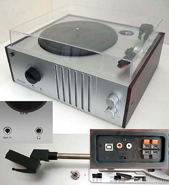 Economy 4 Speed 78 RPM USB Record Player