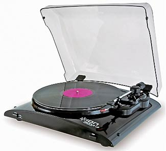 USB Belt Drive Conversion Turntable