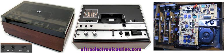 Cassette deck to be refurbished - restoration services available - Decks: SONY TC-FX210, SONY TC-WR531, Fisher CR-150, Pioneer CT-F1250