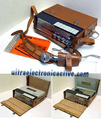 Vintage UHER Professional Portable Reel to Reel Deck