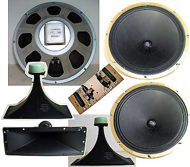 Vintage Magnavox Speakers and Horns